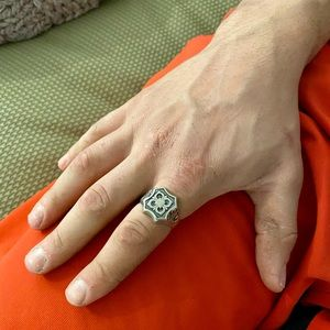Men's sterling silver ring size 12.5